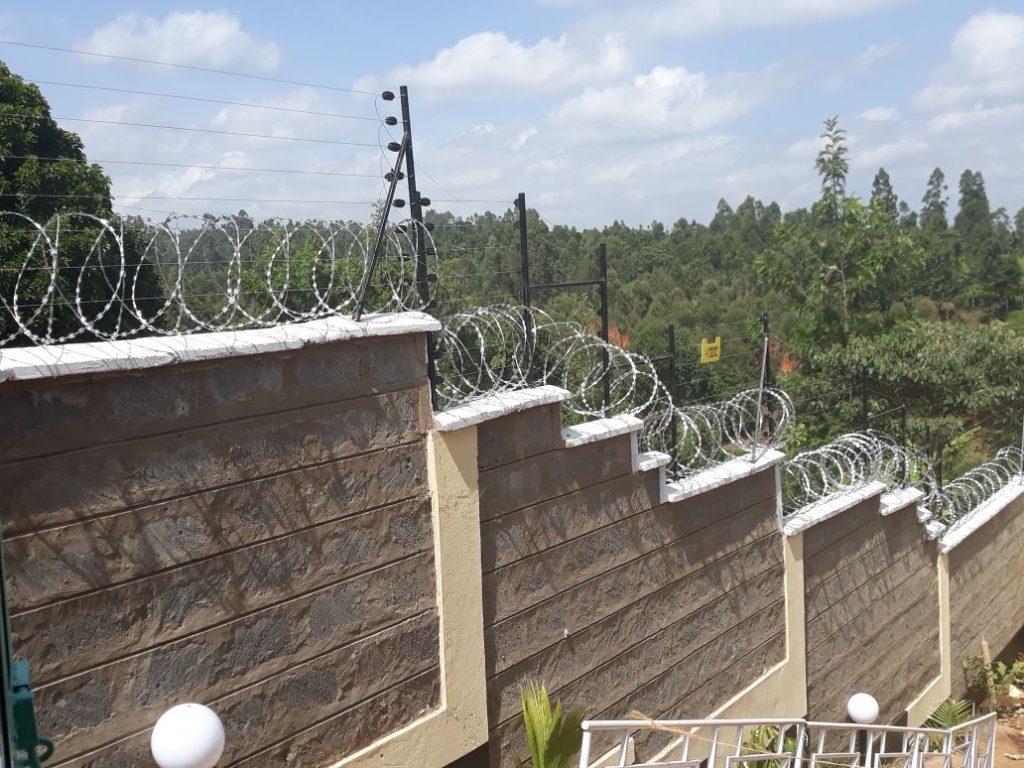 Razor Wires In Nairobi