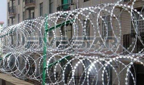 Razor Wires In Nairobi, Kenya